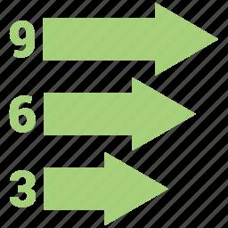 analytics, bar chart, business, finance, marketing icon