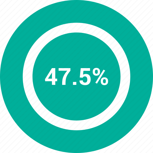 data, forty- seven, information, percent icon