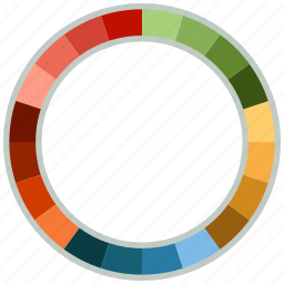 analytics, pie chart, report icon