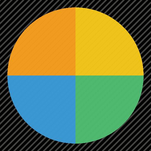 analytics, chart, finance, graph, pie chart, report, statistics icon