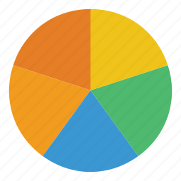 analytics, chart, finance, graph, pie chart, report, statistics icon