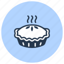 bakery, casserole, dessert, pastry, pie icon