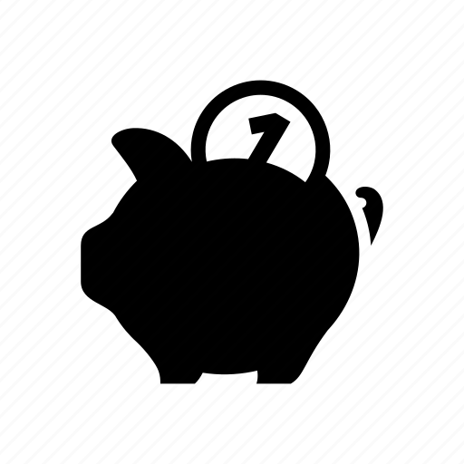 bank, business, coin, finance, money, piggy, saving icon