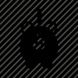 bank, coin, finance, money, piggy, saving icon