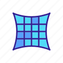 bed, comfortable, cushion, feather, foam, memory, pillow icon