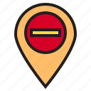 location, map, mark, pin icon