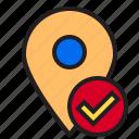 location, pin, map, mark