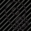 map, mark, pin, taget icon