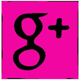 google, ink, media, pen, social icon