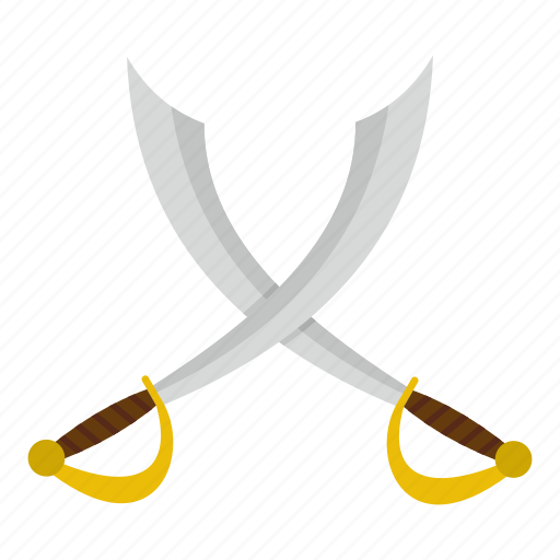 attack, battle, blade, crossed, crossed sabers, fight, saber icon