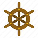adventure, boat, nautical, ship, ship wheel, steering, wheel icon