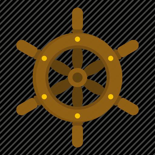 adventure, boat, nautical, ship, ship wheel, steering, wheel icon