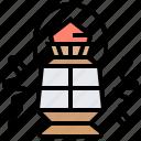 antique, gas, lamp, lantern, lighting icon