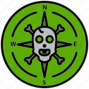 blackmail, compass, grub, guidance, pirate, raider, rover icon