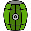barrel, distric, grub, pirate, pitch, raider, rover icon