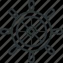 navigate, ships wheel, steering, steering wheel, wheel icon
