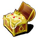 chest, gold, treasure