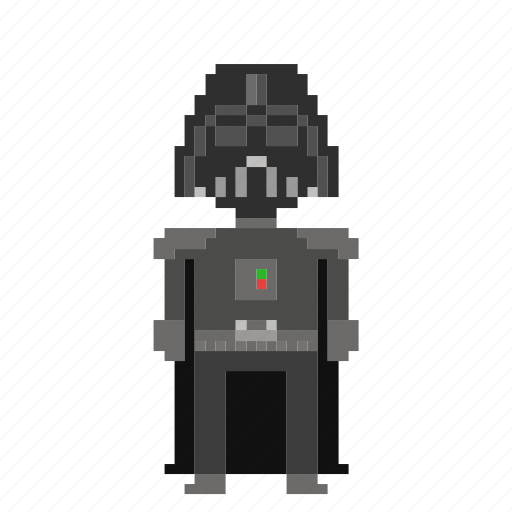 avatar, darth vader, man, person, pixels, star wars, starwars icon