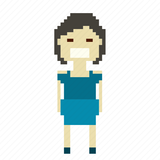chinese, chinese woman, female, person, pixels, woman icon