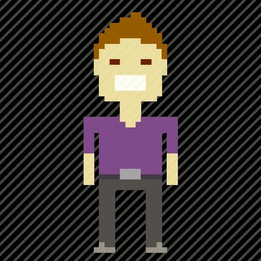 avatar, chinaman, chinese, japanese, male, man, person, pixels icon