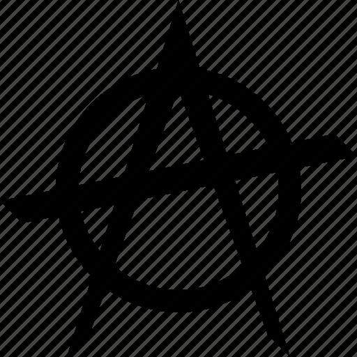 anarchist anarchy punk rebellion revolution riot icon