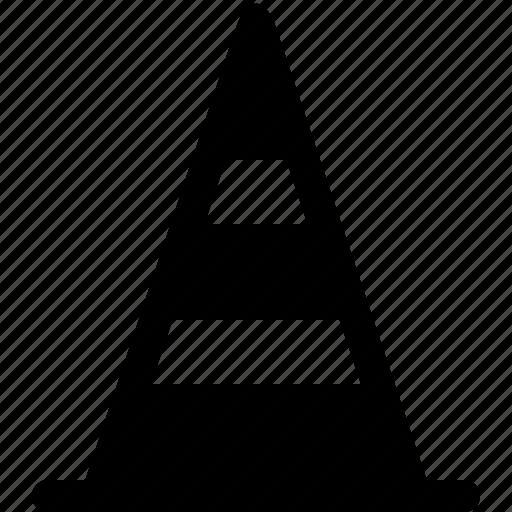 construction cones, highway cones, road cones, safety cones, traffic cones, traffic pylons, witch's hat icon