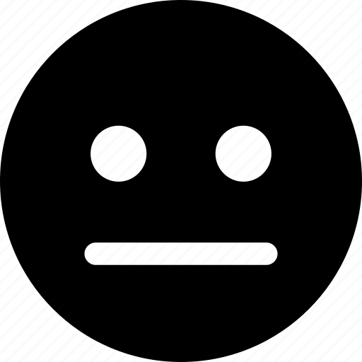 emotion, face, feeling, mood, regular, survey icon