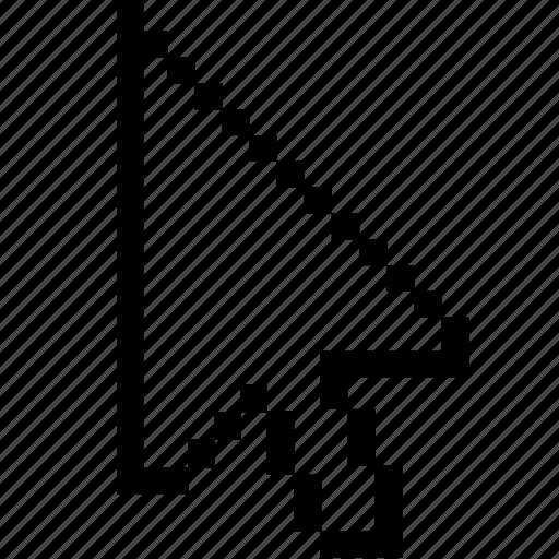 Cursor, pointer, arrow, point icon