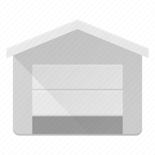 architecture, building, garage, landmark, place icon