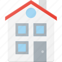 architecture, building, home, house, landmark, place icon