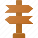 crossroad, landmark, place, road, sign icon