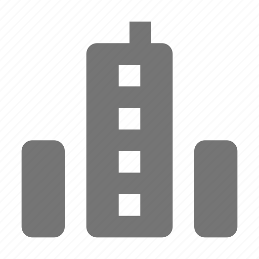 building, buildings, skyscraper icon