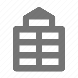 apartment, building, office icon