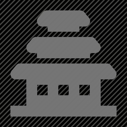 building, pagoda icon
