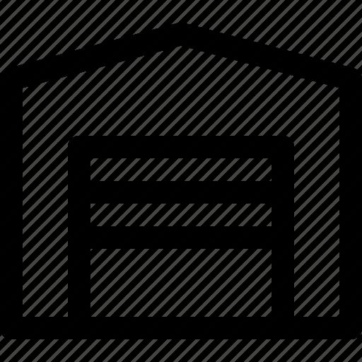 garage, home, house, storage icon