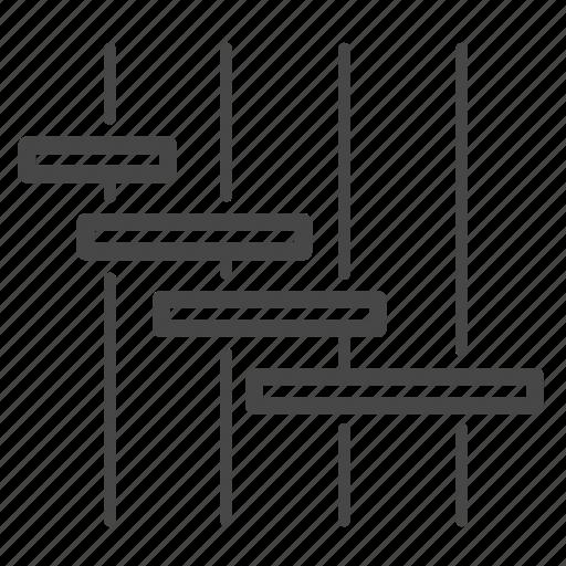 agile, plan, sprint, timeline icon