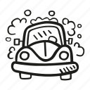 car, carwash, clean, cleaning, wash icon