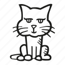 animal, cat, pet icon