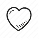 heart, love, romance, romantic, valentine icon