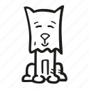 animal, cute, dog, pet icon