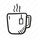 beverage, coffee, cup, drink, hot, tea icon