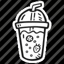 beverage, drink, homemade, lemonade icon