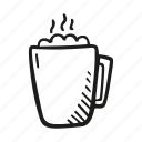 beverage, cocoa, drink, marshmallow icon