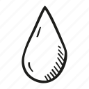 drink, drop, water icon