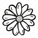 eco, flower, nature, plant icon