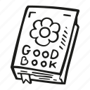 book, education, good, library, reading icon