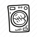 equipment, laundry, machine, washing icon