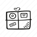 box, delivery, package, shipping icon