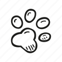 animal, cat, dog, paw, pet icon