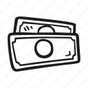bills, business, day, dollar, finance, money, pay icon